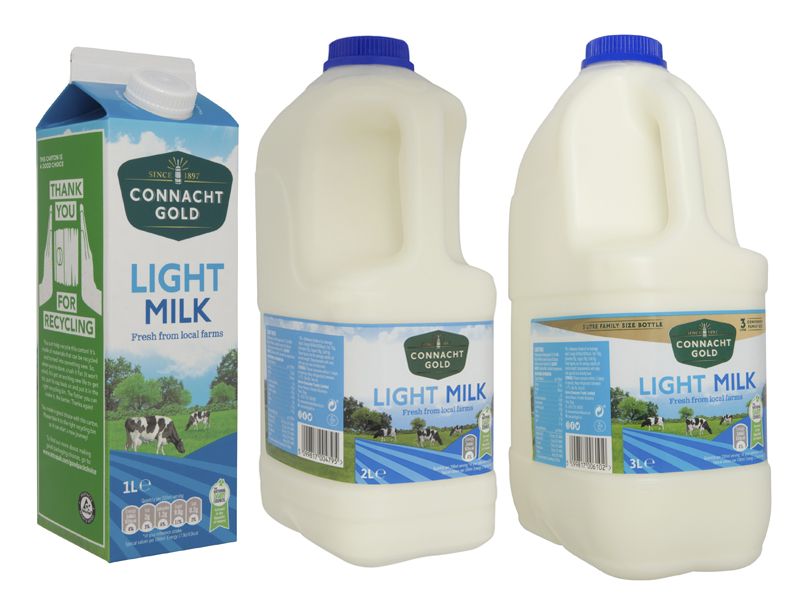 Connacht Gold Light Milk