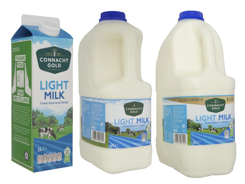 Connacht Gold Light Milk