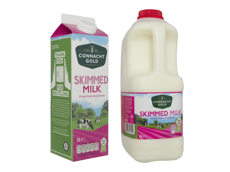 Connacht Gold Skimmed Milk