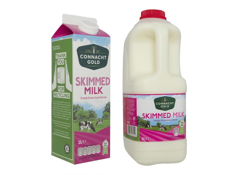 Connacht Gold Skimmed Milk